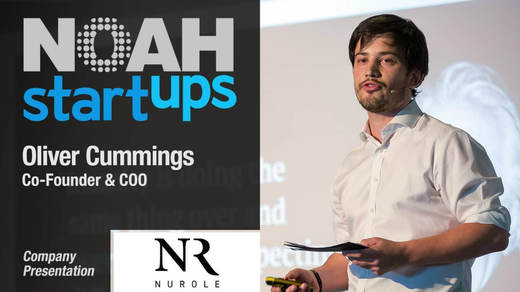 Photo of Oliver Cummings talking at NOAH