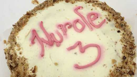 Nurole third birthday cake