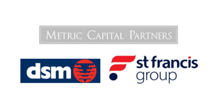Dsm st francis metric capital partners logo 720x360