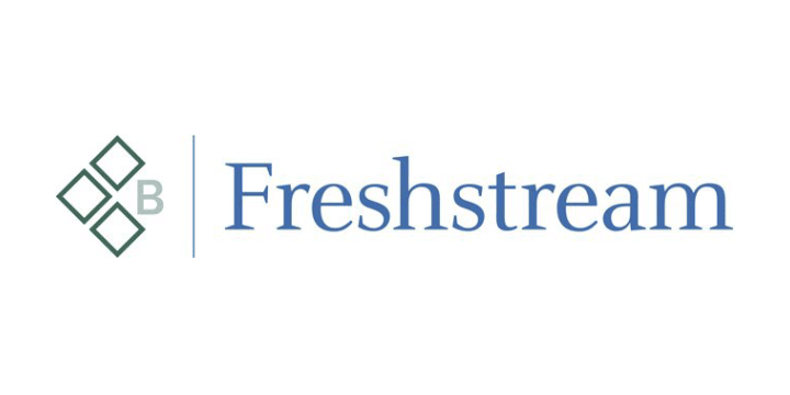 Freshstream logo white
