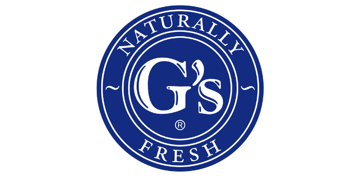 Gs fresh logo white