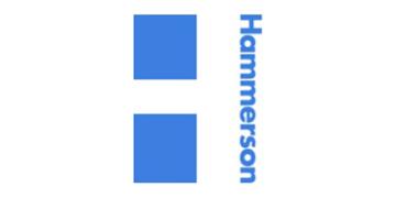 Hammerson logo 360 white