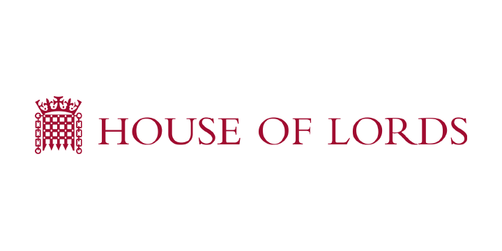 House of lords logo white