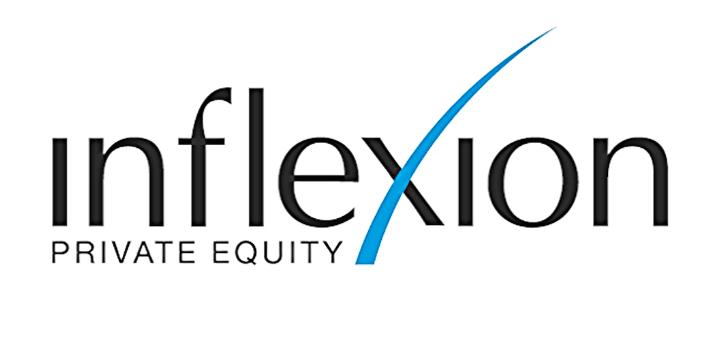 Inflexion logo white