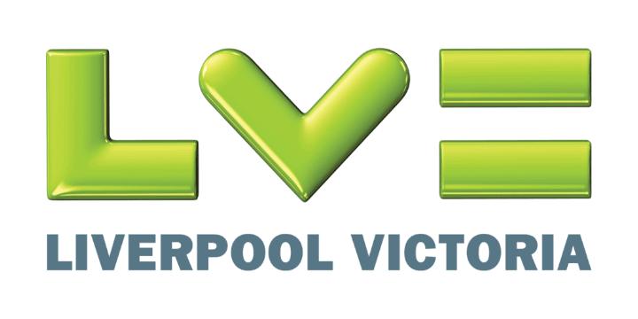 Liverpool victoria logo white