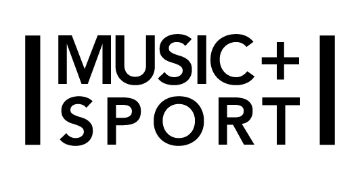Music sport logo 360