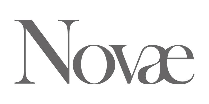 Novae logo white