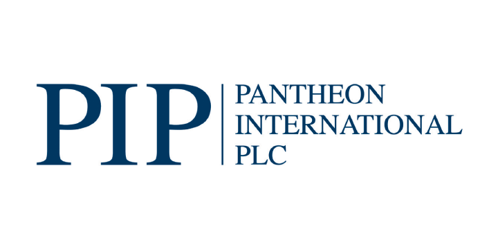 Pantheon international logo white