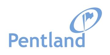 Pentland logo 360 white