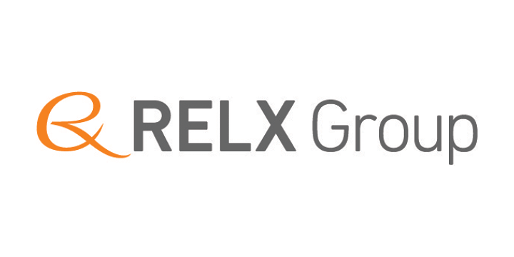 Relx group logo white