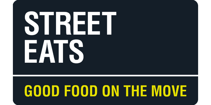 Street eats logo white