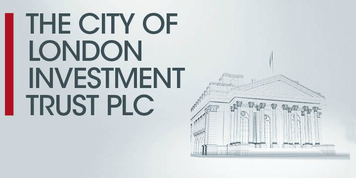 The city of london investment trust logo