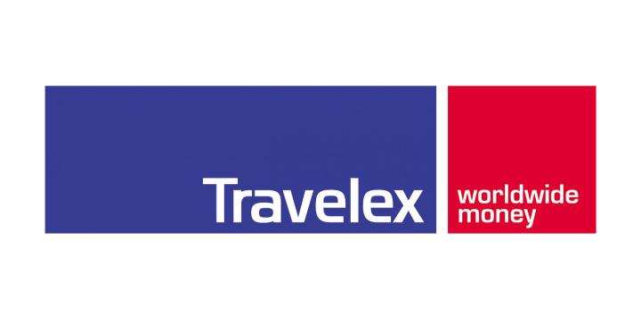 Travelex logo whte